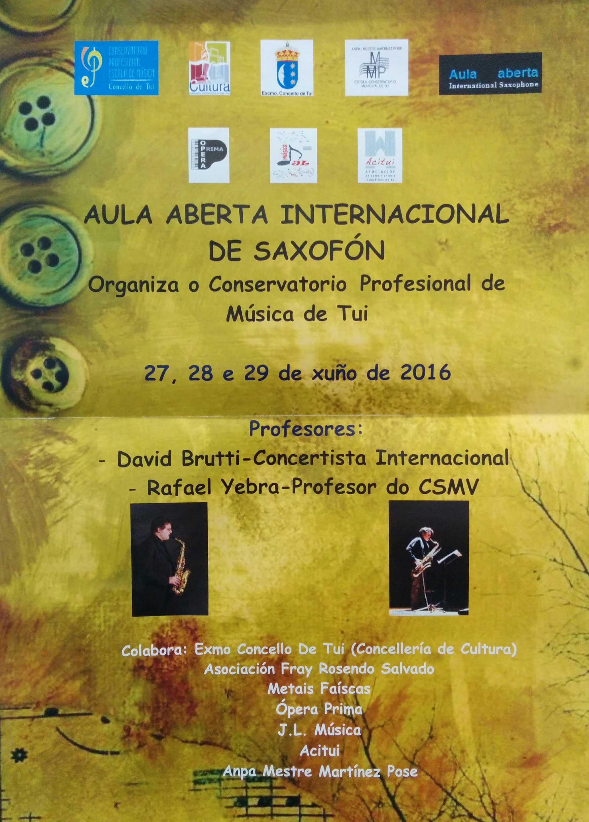 Aula Abierta Internacional De Saxofón