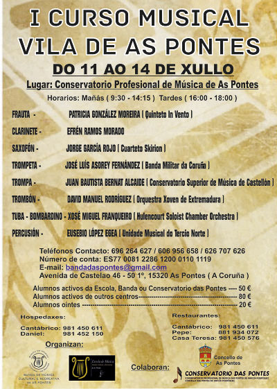 I Curso Musical Vila De As Pontes