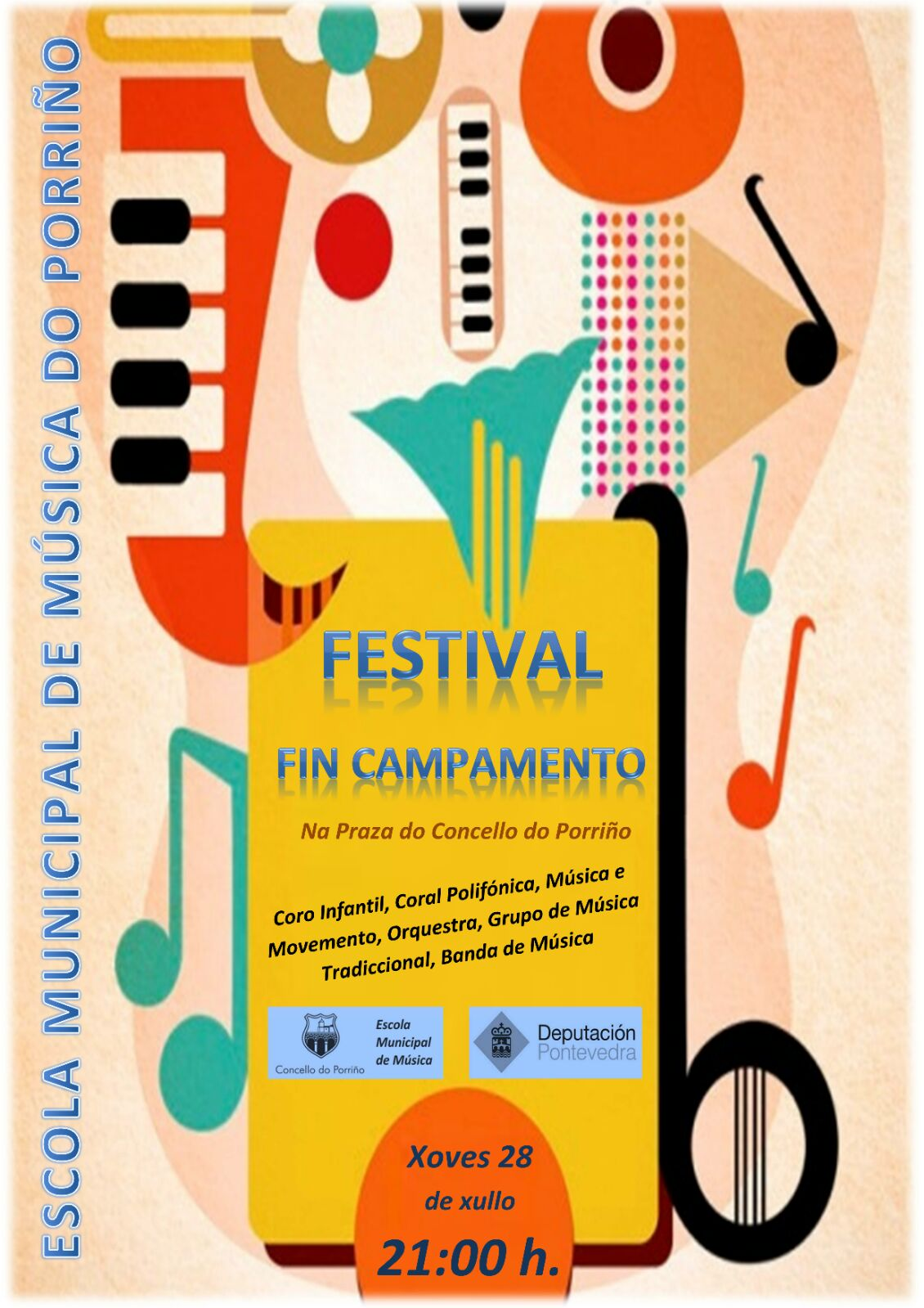 Festival Fin De Campamento Porriño