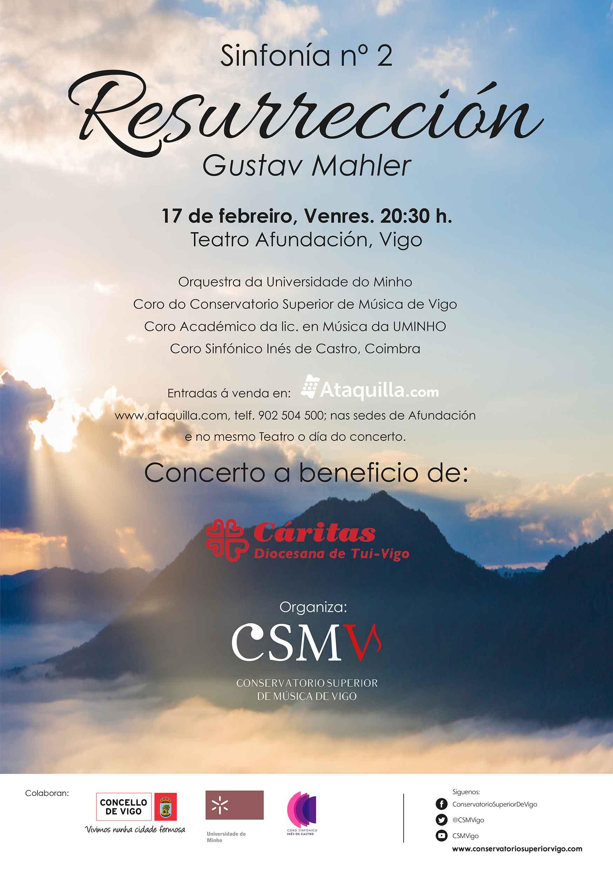 """Concierto Solidario  """"2ª Sinfonía De Mahler"""""""