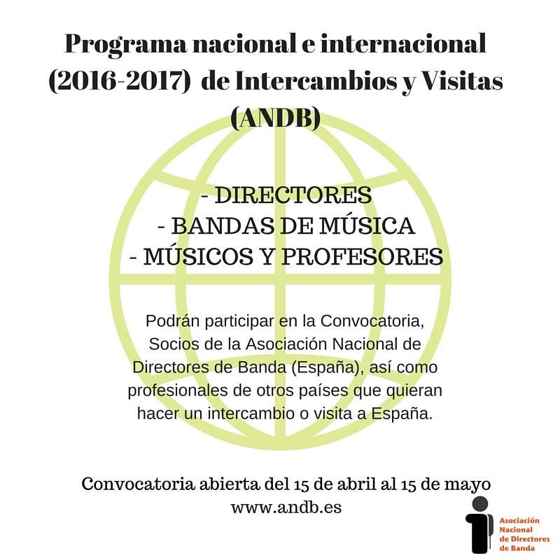 Programa ANDB Internacional De Intercambios