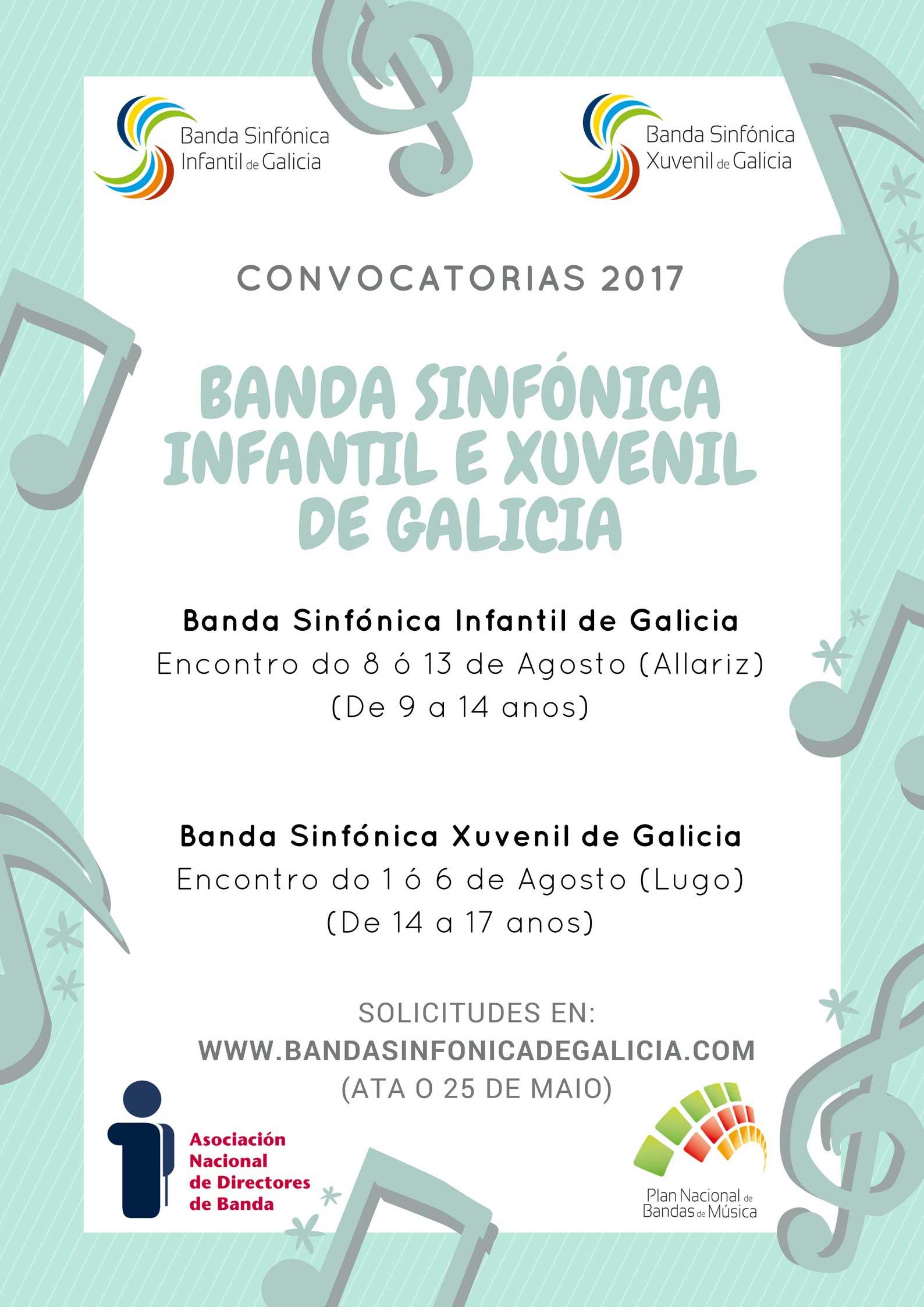 Encuentros 2017 De Las Bandas Sinfónicas De Galicia