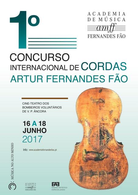 1º Concurso Internacional De Cuerdas Artur Fernandes Fão
