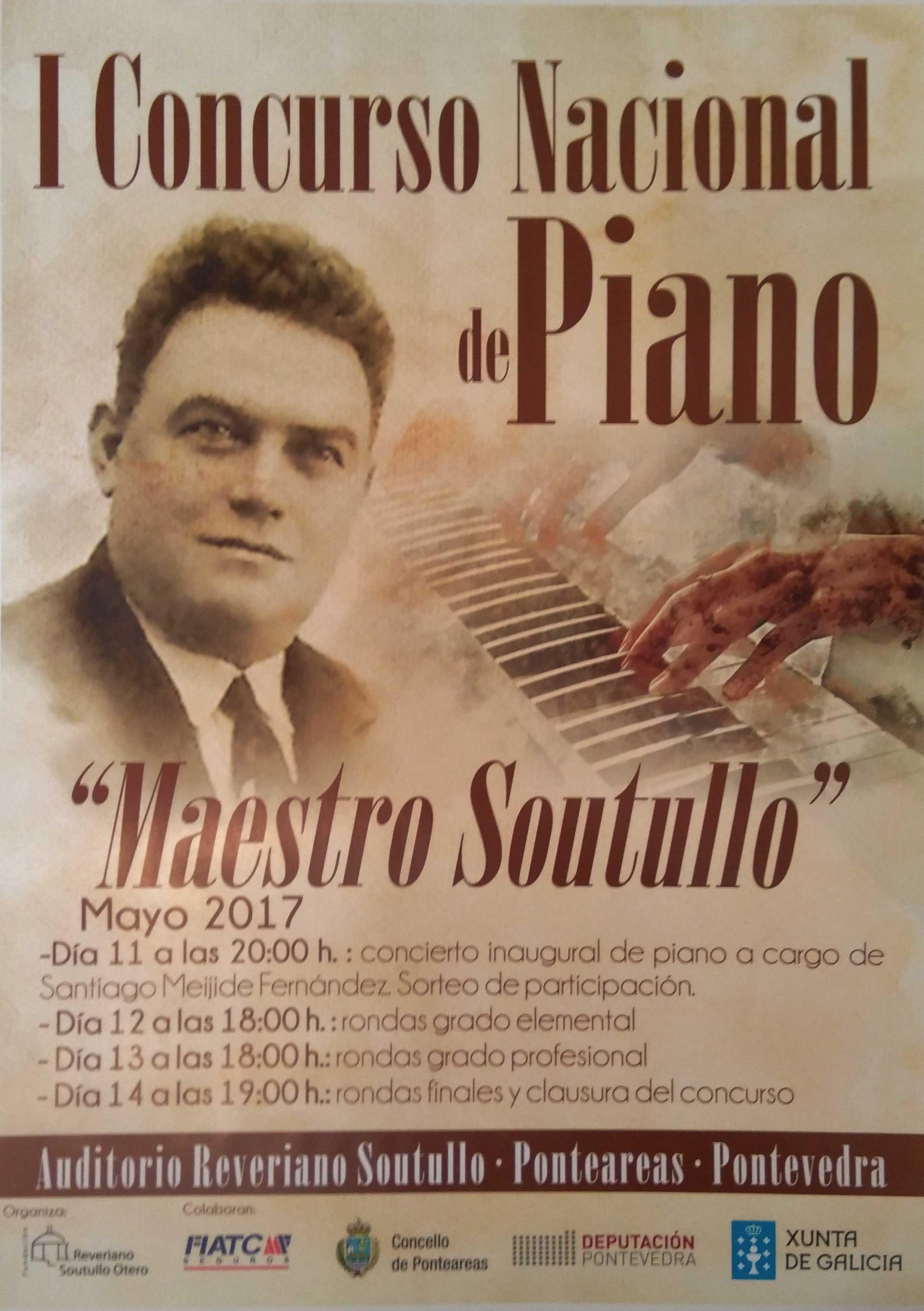 Concurso De Piano Maestro Soutullo 2017