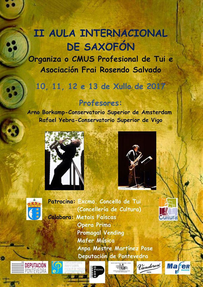 II Aula Internacional De Saxofón