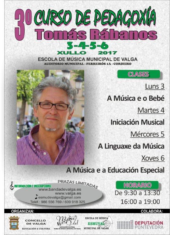 III Curso De Pedagogía Musical Tomás Rábanos