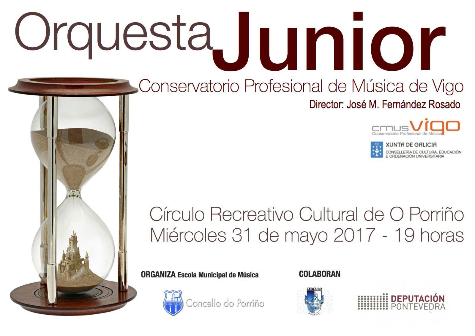 Concierto Orquesta Junior CMUS Vigo