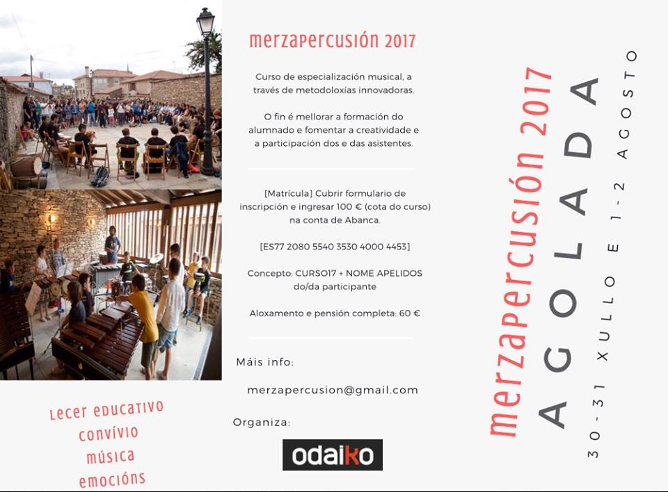 MERZA Percusión 2017