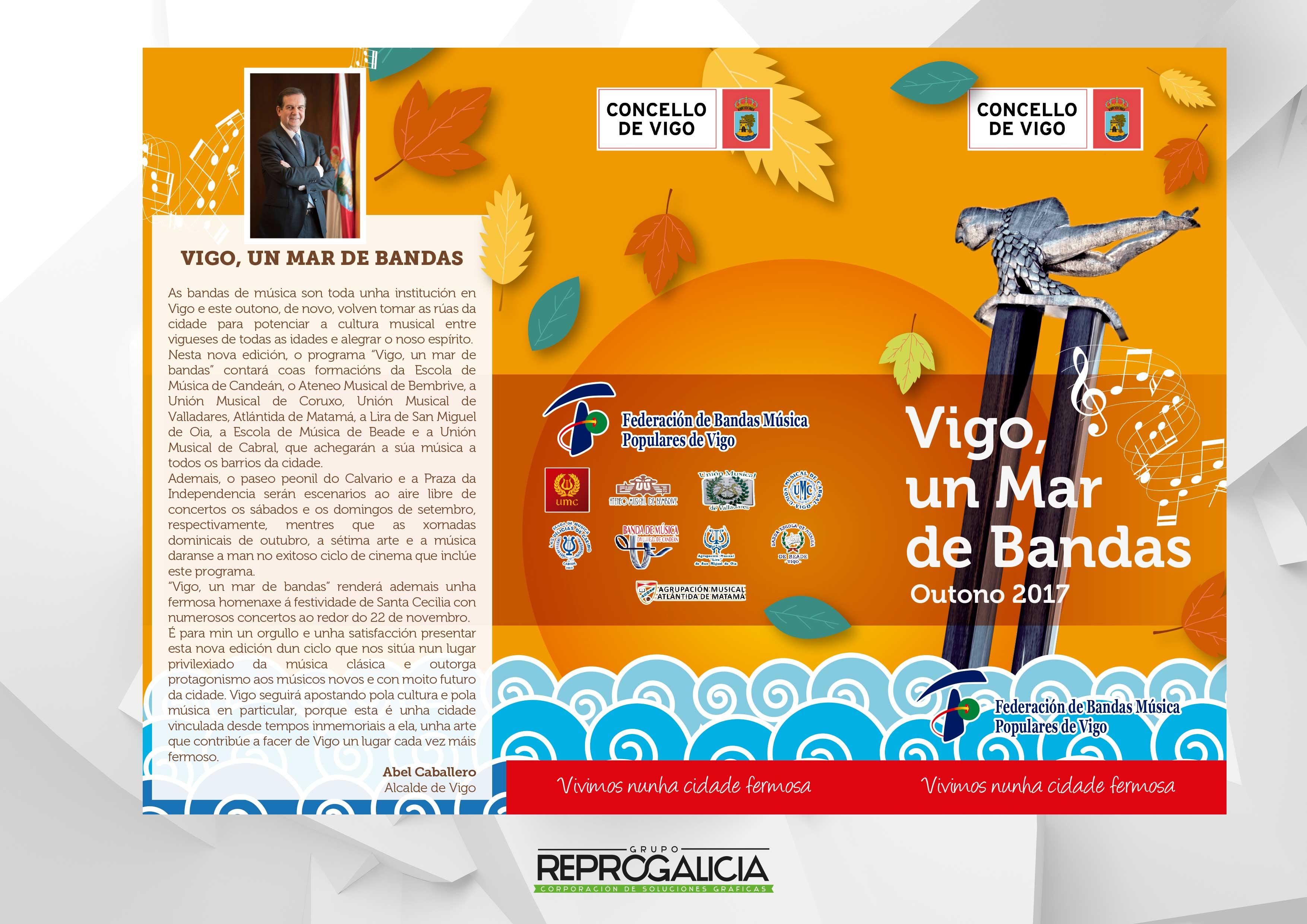 Vigo, Un Mar De Bandas Otoño 2017