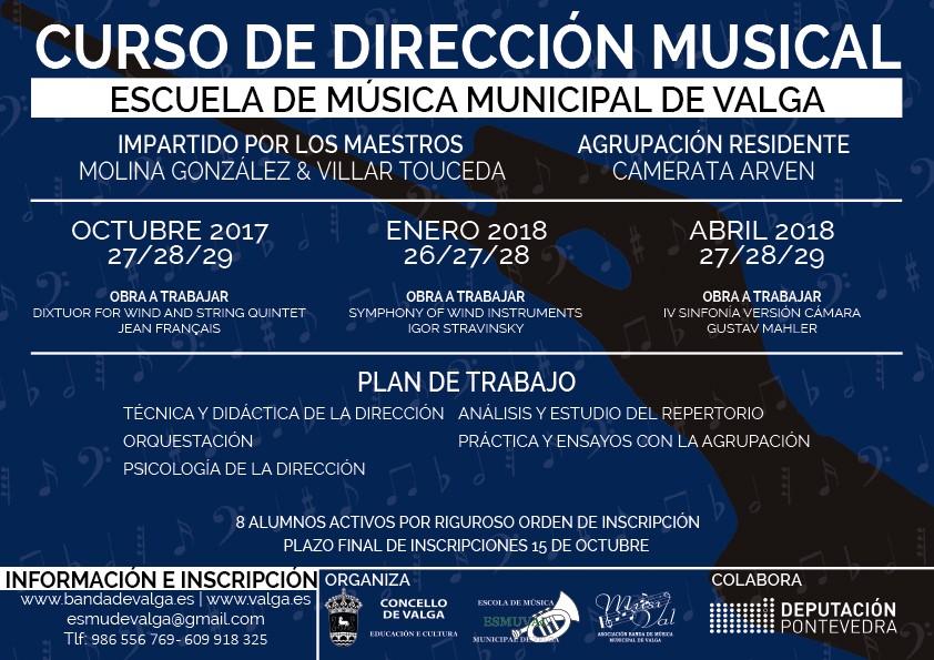 Curso De Dirección Musical 17-18 Valga