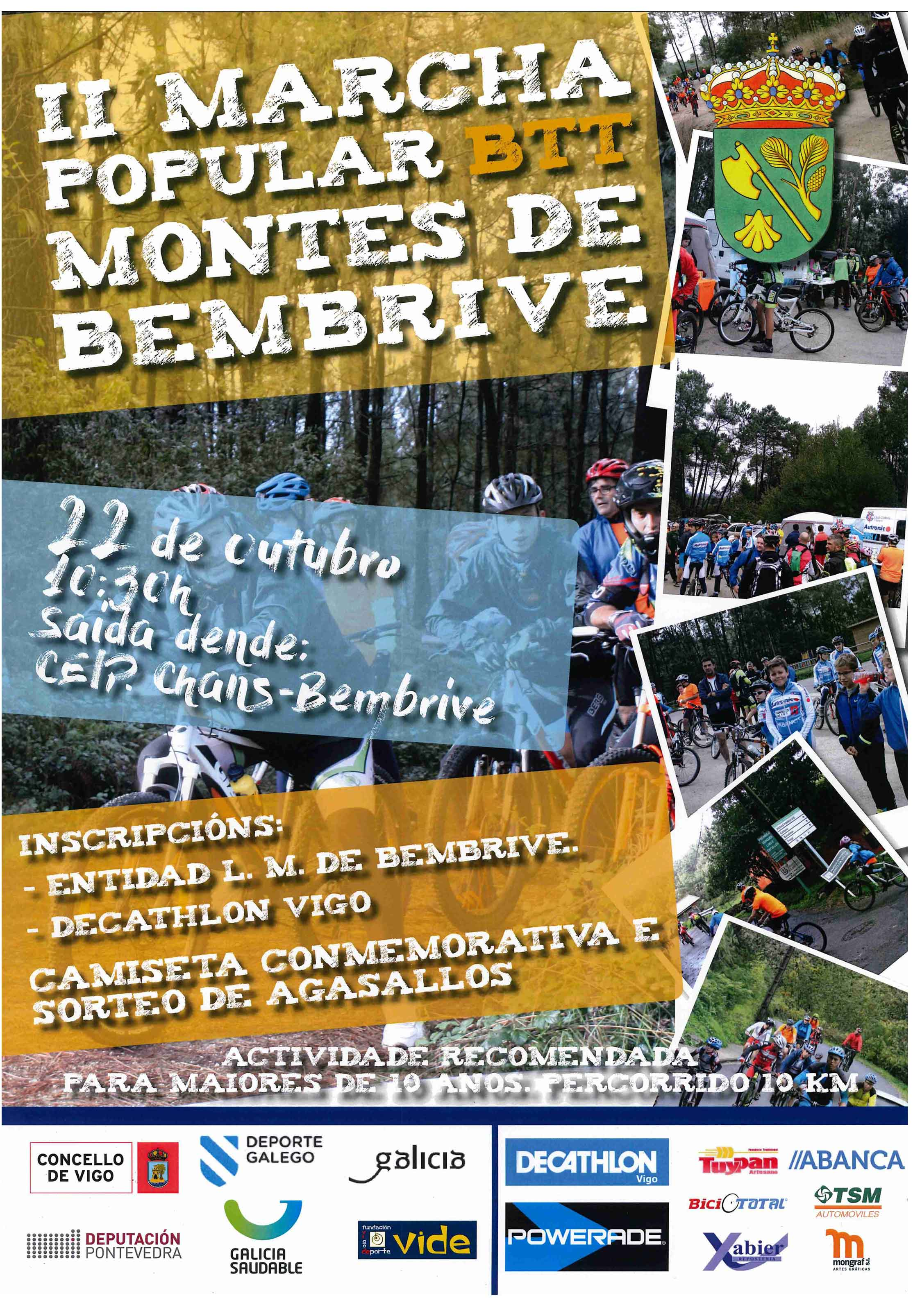 II Marcha Popular BTT Montes De Bembrive