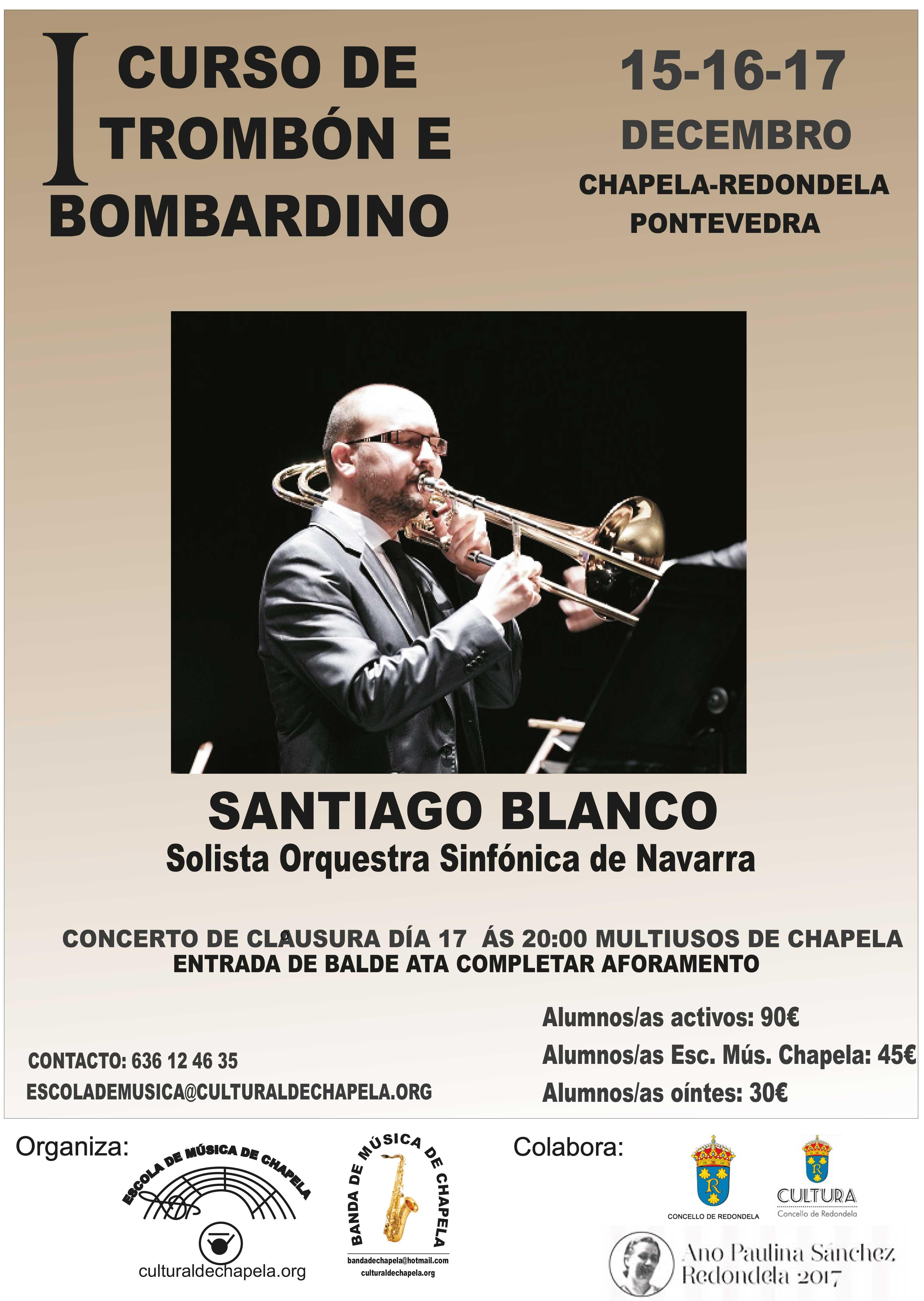 I Curso Trombón Y Bombardino – Chapela