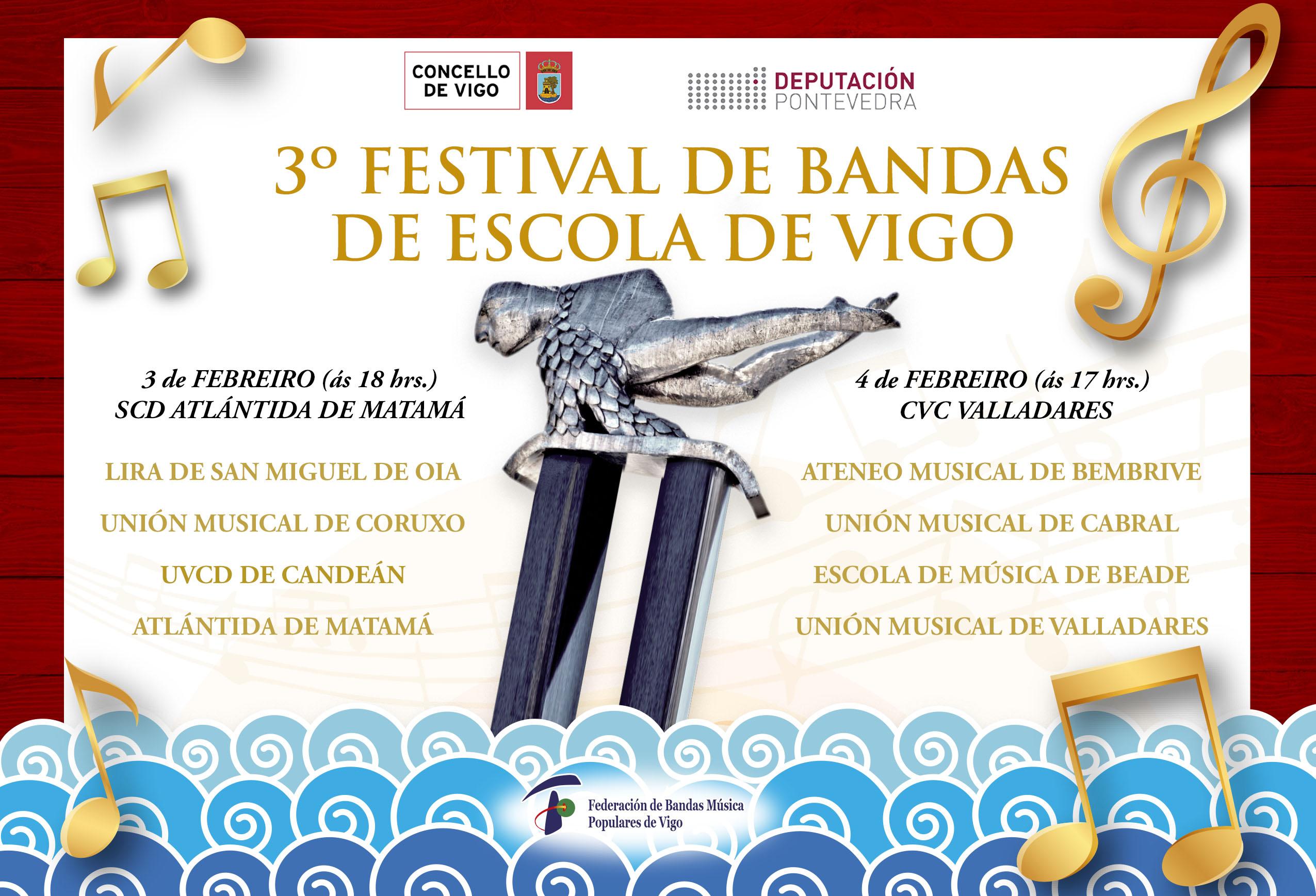 3er Festival Bandas Escolas De Vigo 2018