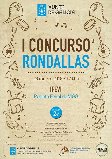 """I Concurso De Rondallas """"Federación De Rondallas De La Área Metropolitana De Vigo"""""""