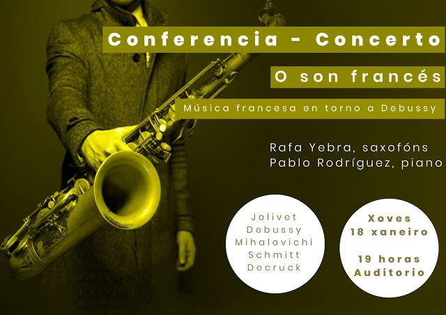 """Conferencia – Concierto """"O Son Francés"""""""
