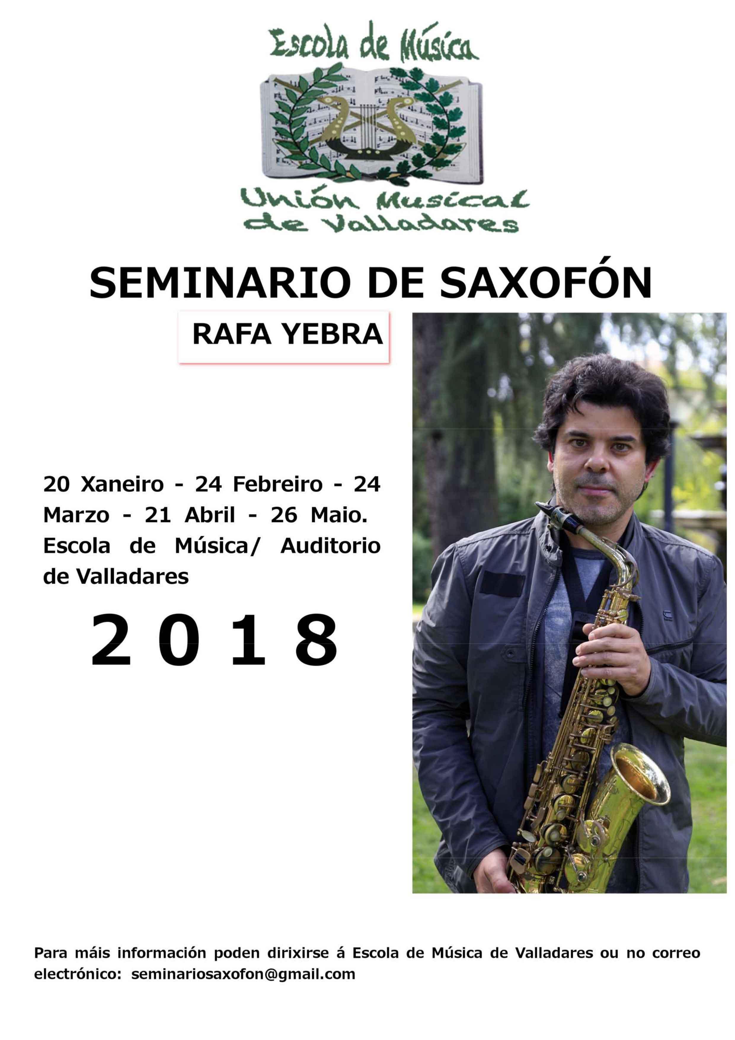 Seminario De Saxofón Con Rafa Yebra