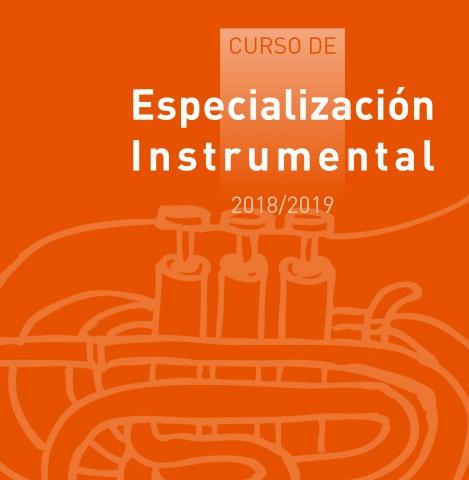 Curso De Especialización Instrumental 2018-19