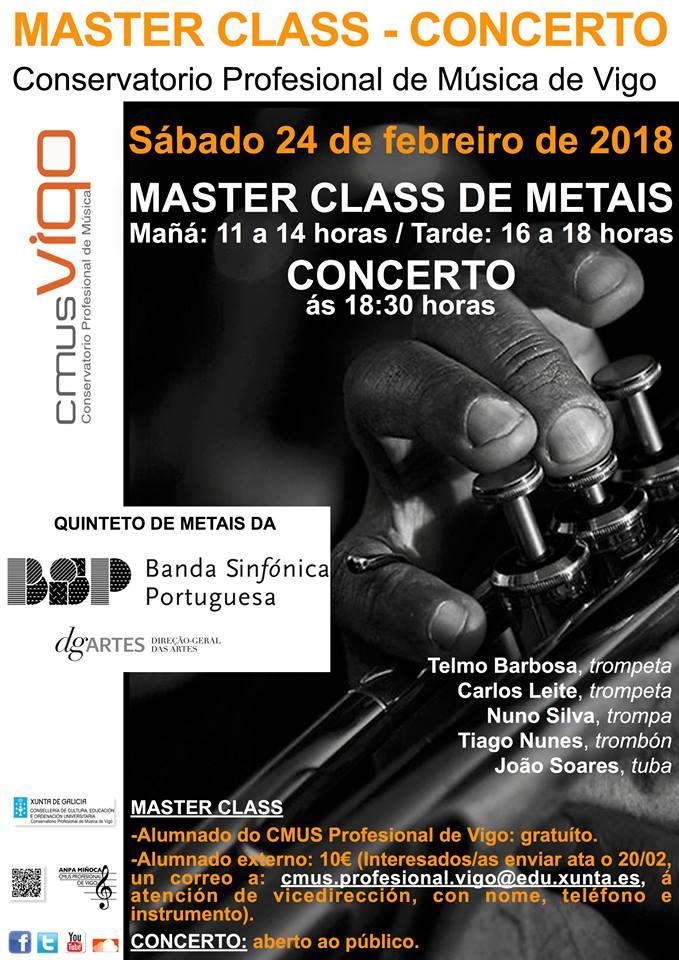 Concierto-Master Class Quinteto De Metales BSP