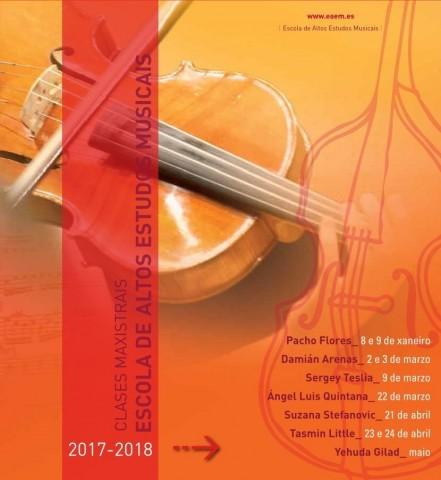 Clases Magistrales EAEM Marzo – Mayo 2018
