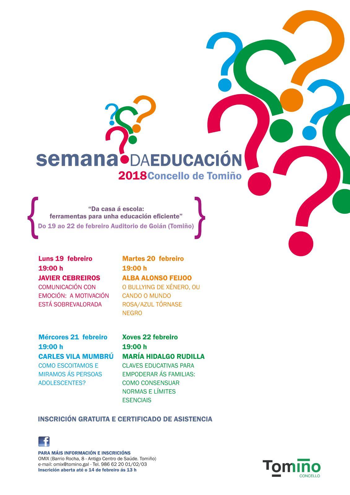 Semana De La Educación Tomiño 2018