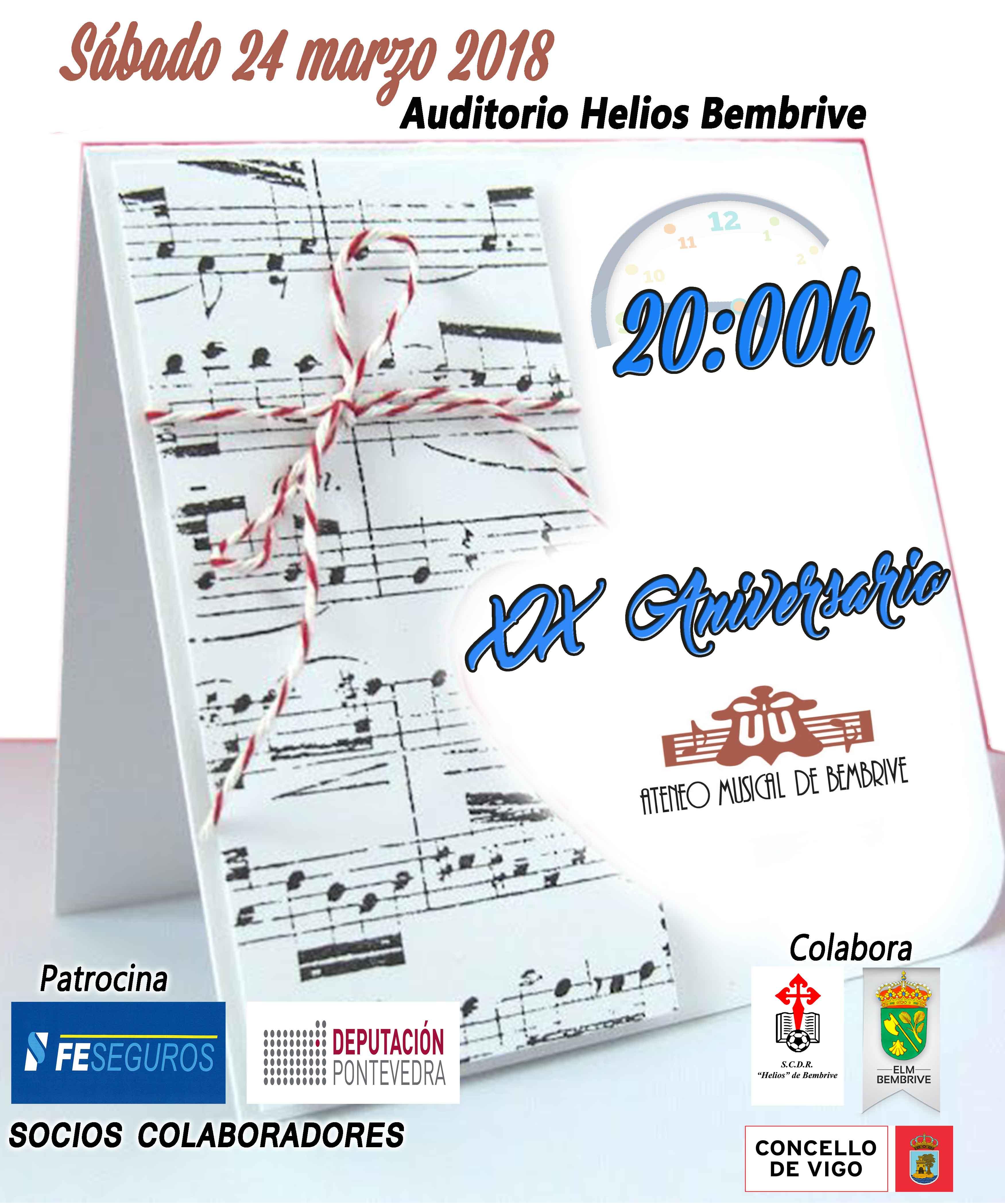 XIX Aniversario Ateneo Musical De Bembrive