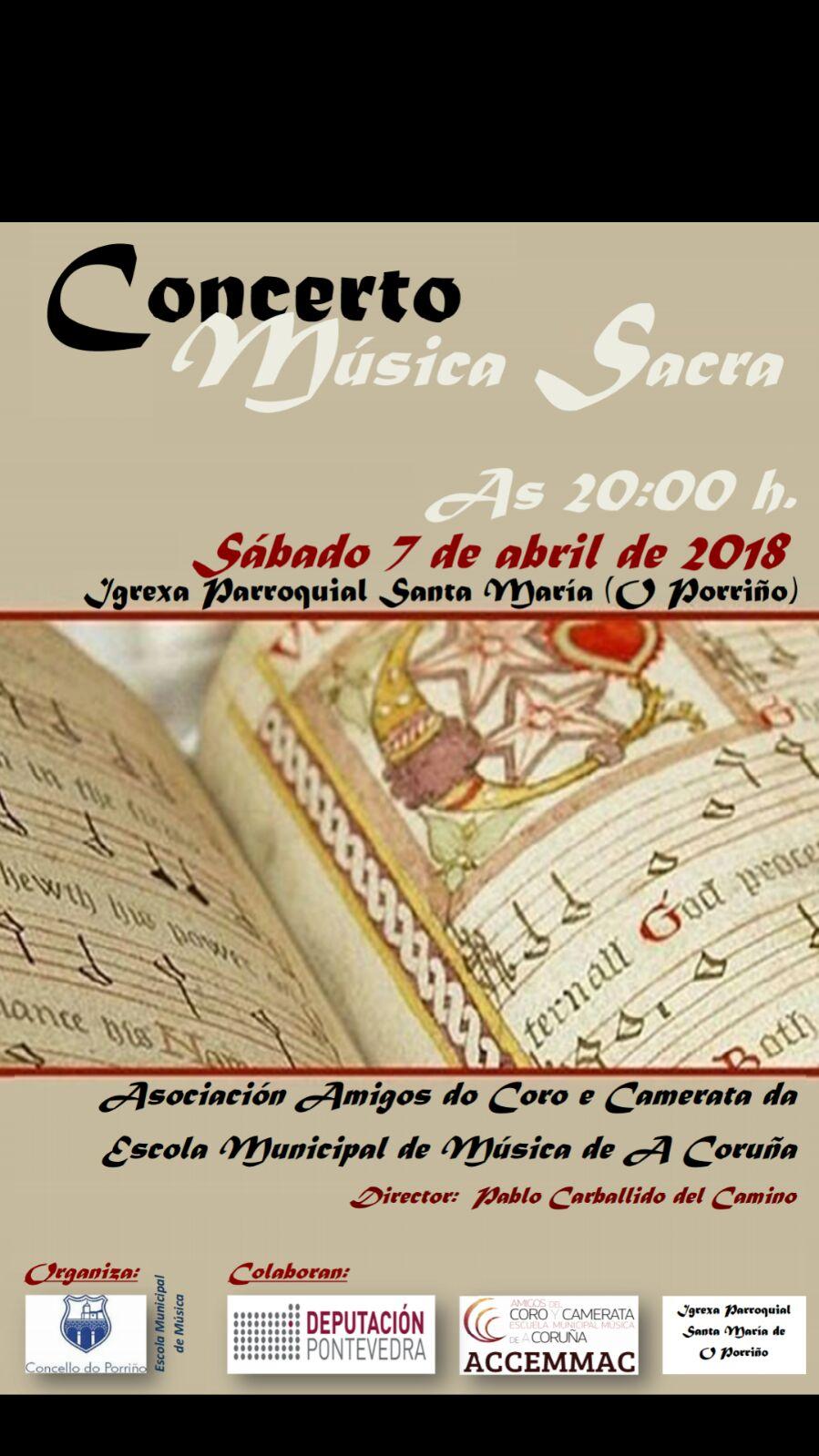 Concerto Musica Sacra Porriño