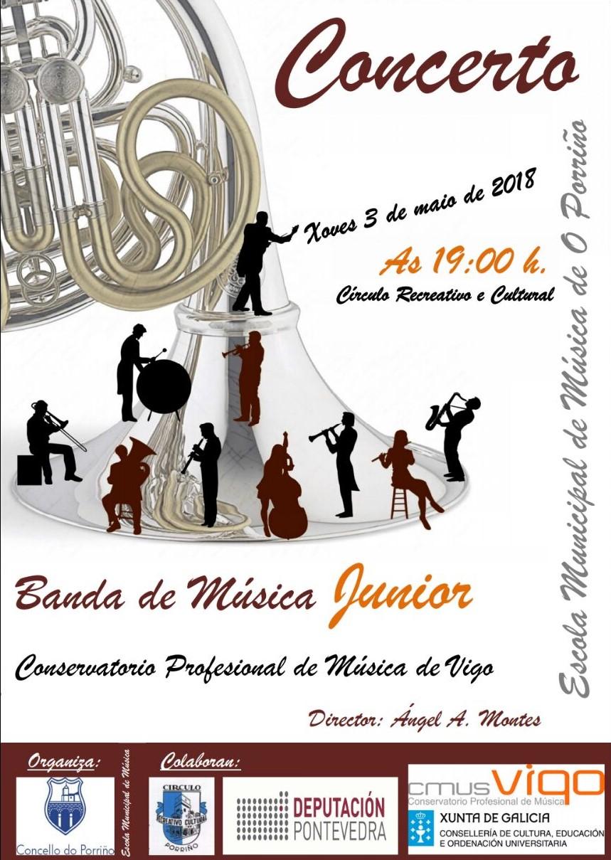 Concierto Banda Junior CMus Vigo