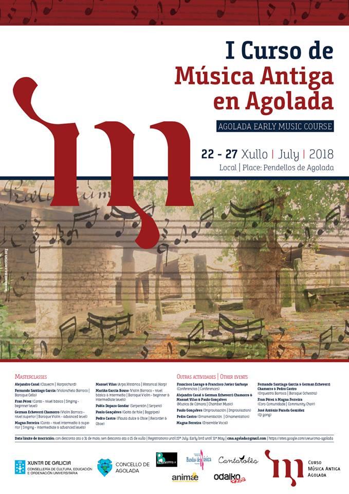 I Curso De Música Antigua En Agolada