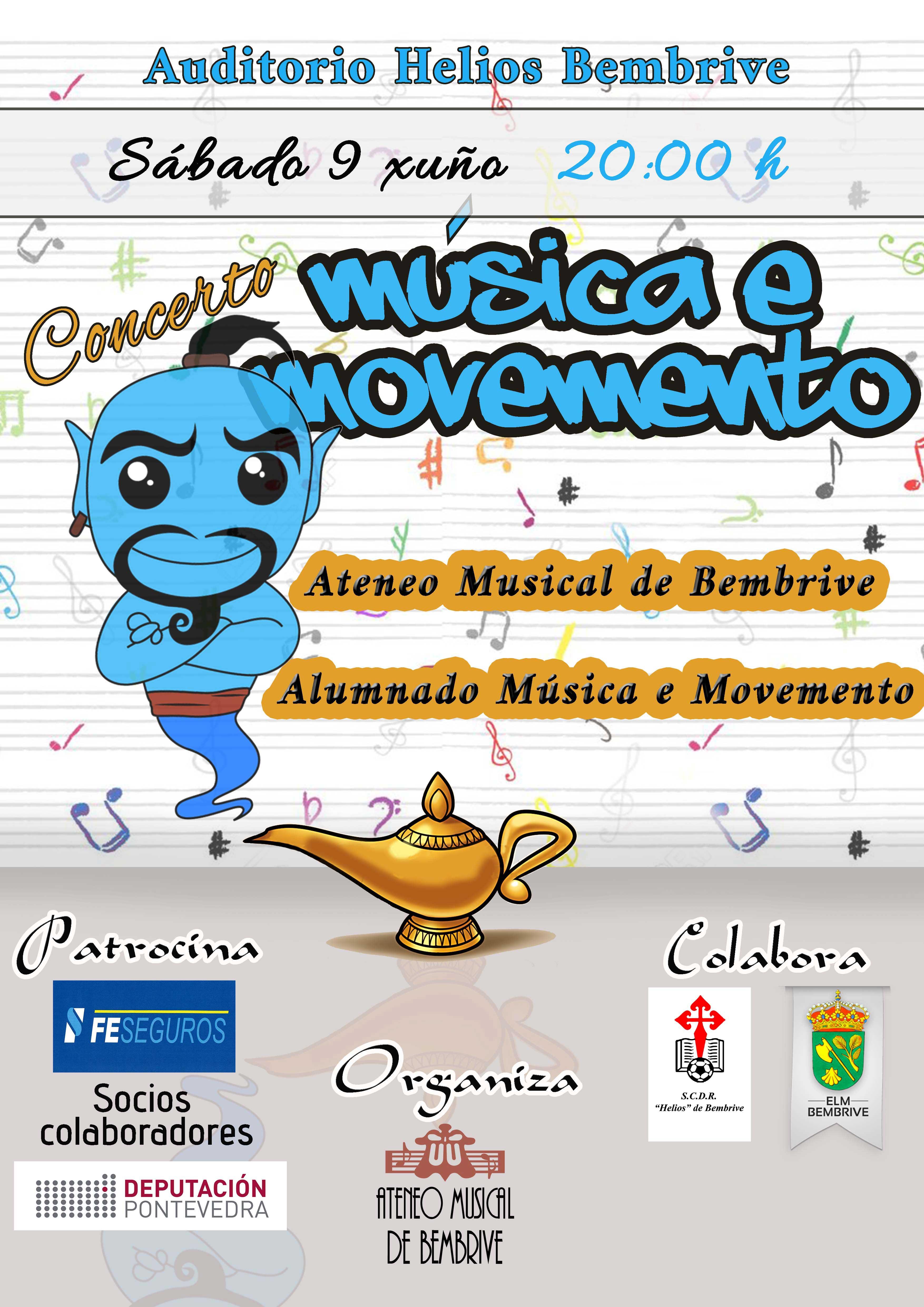 Concierto Música Y Movimiento 2018
