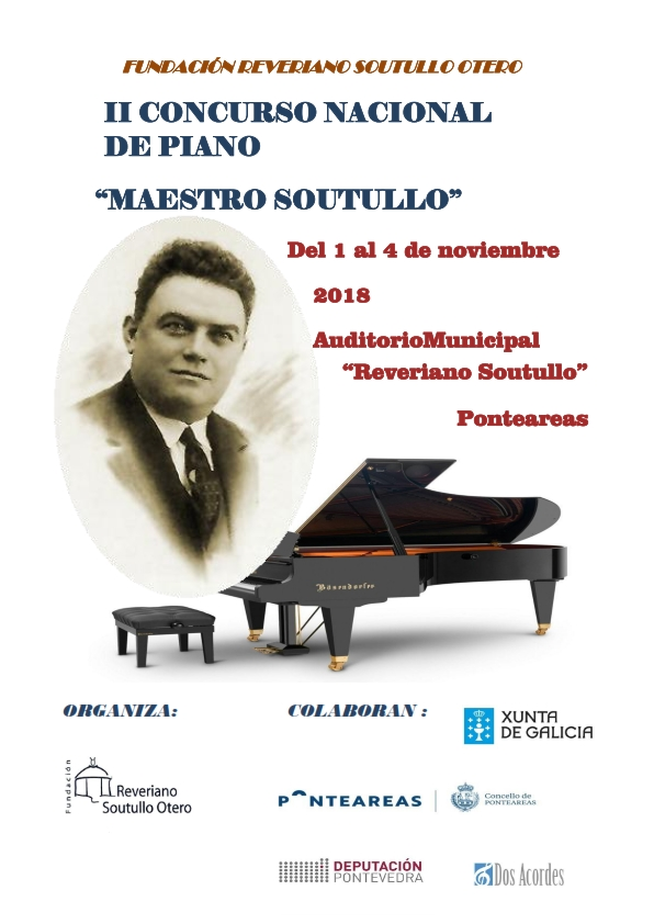 II Concurso Nacional De Piano Maestro Soutullo2018