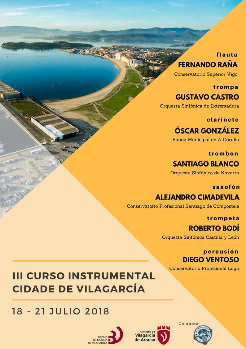 III Curso Instrumental Cidade Vilagarcía
