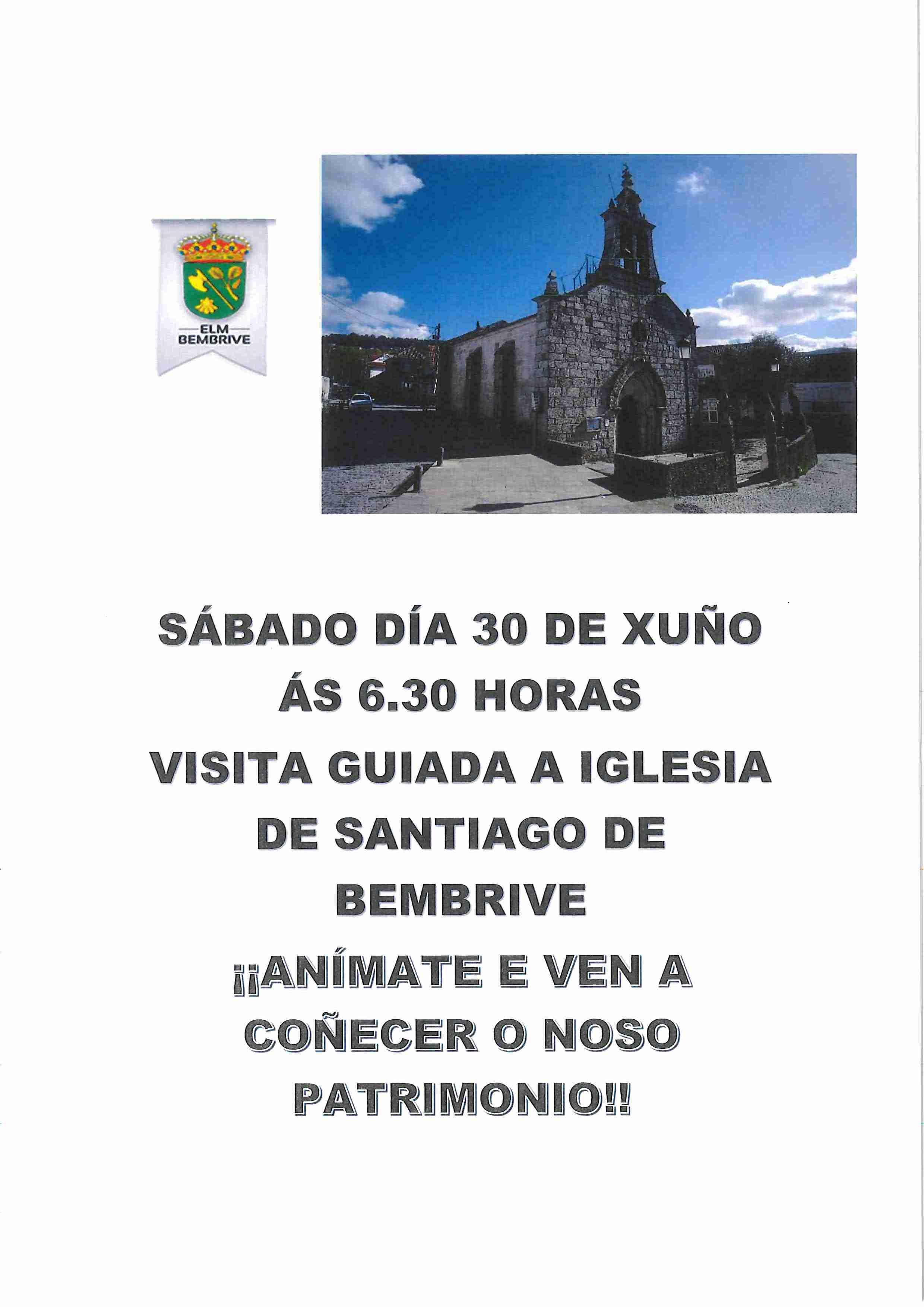 Visita Guiada A La Iglesia Románica De Bembrive