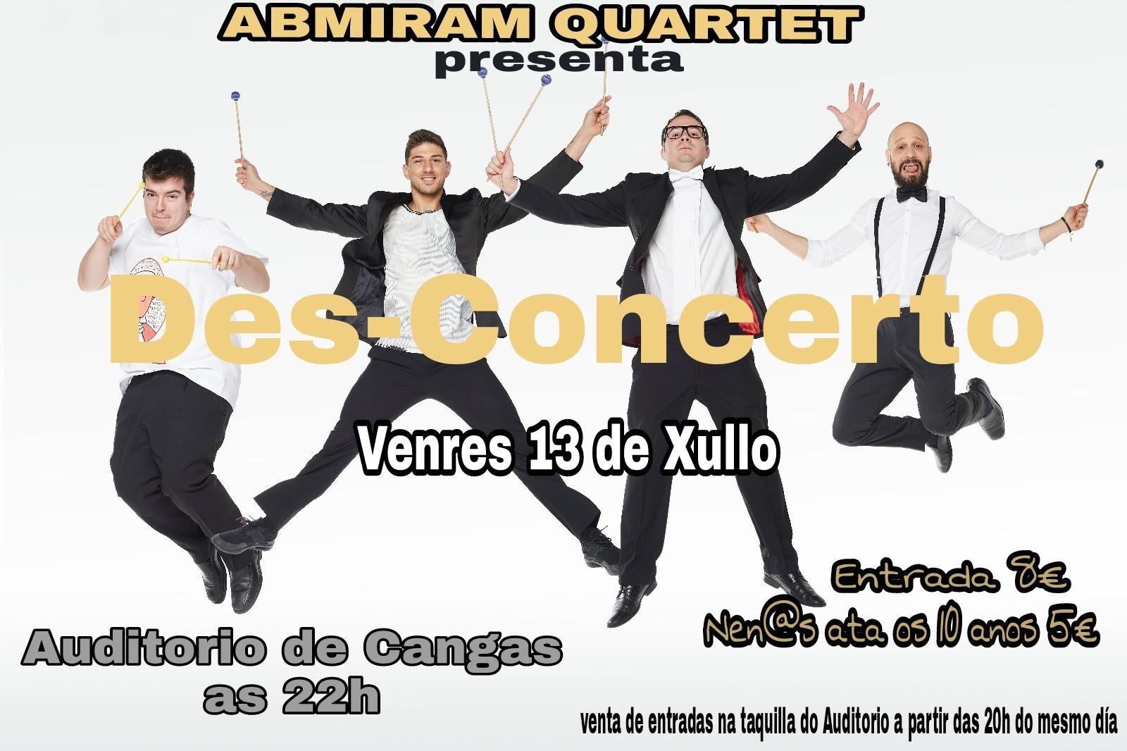 Des Concerto Abmiram Quartet