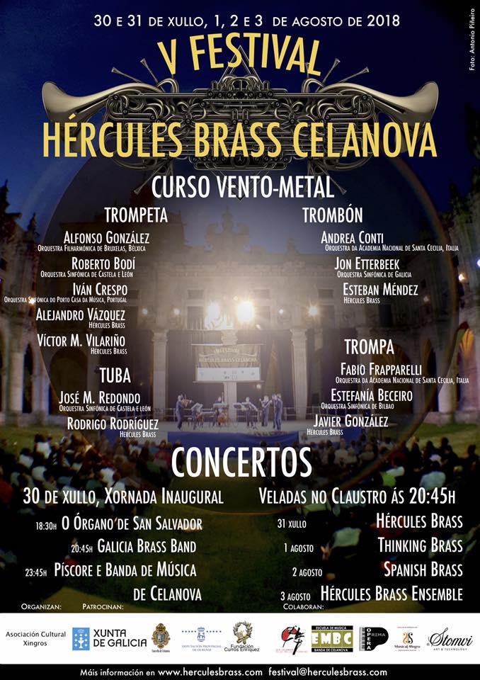 V Festival Hércules Brass Celanova