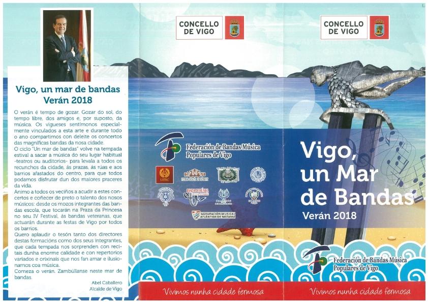 Vigo, Un Mar De Bandas -Verano 2018