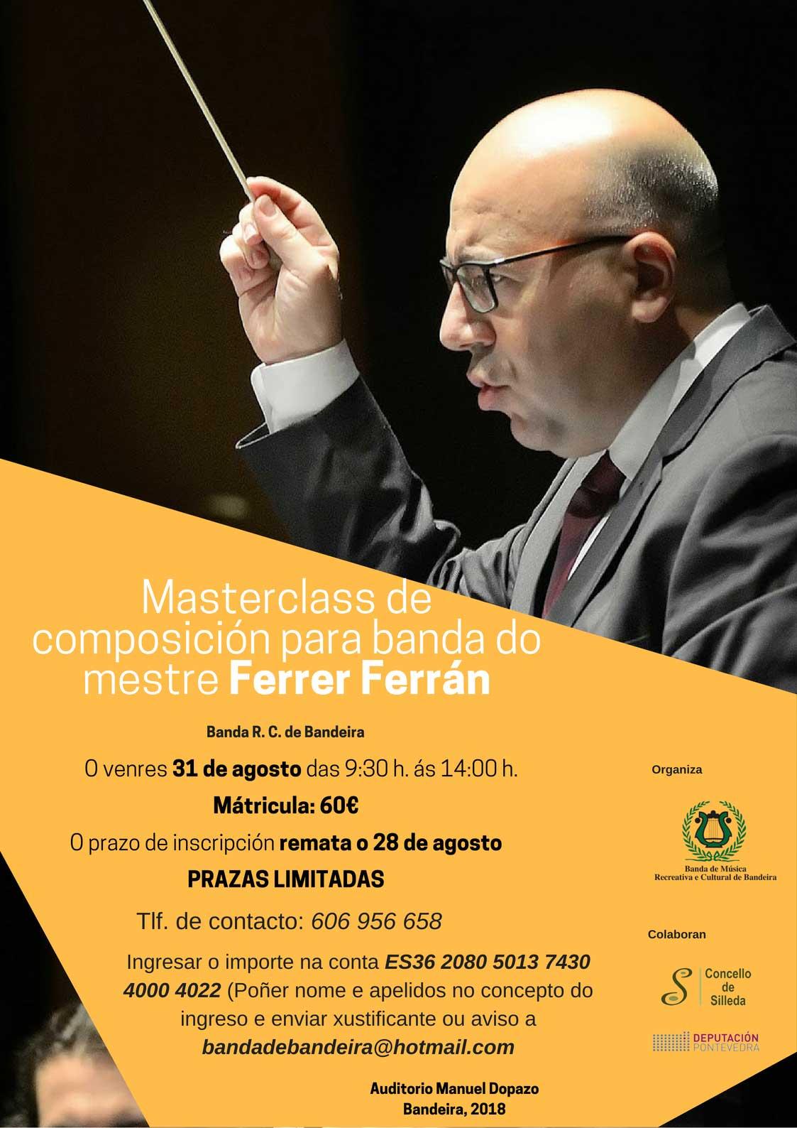 Masterclass De Composición Con Ferrer Ferrán