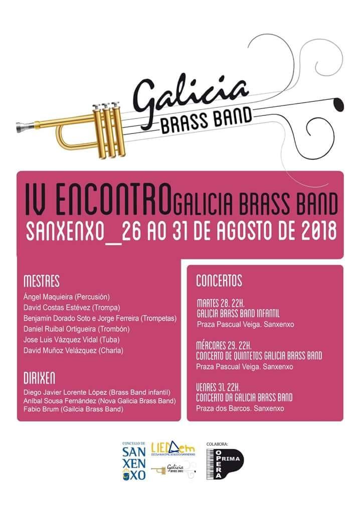 IV Encontro Galicia Brass Band