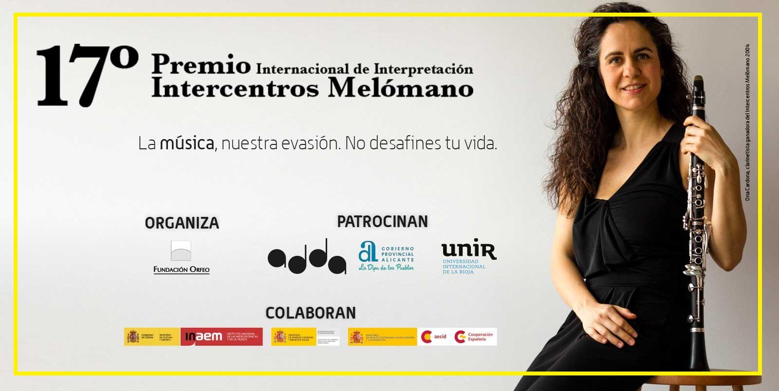 17 Premio De Interpretación Intercentros Melómano