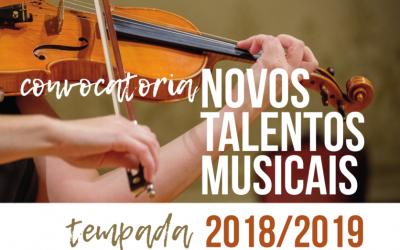 """3º Ciclo De Conciertos """"Novos Talentos Musicais"""""""