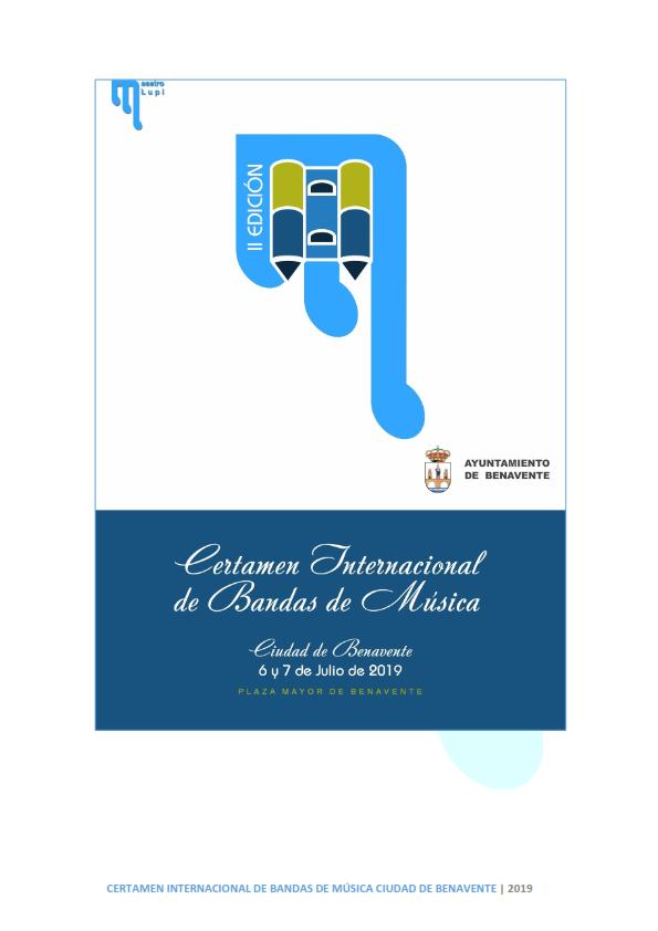 II CIBM  CIUDAD DE BENAVENTE | 2019