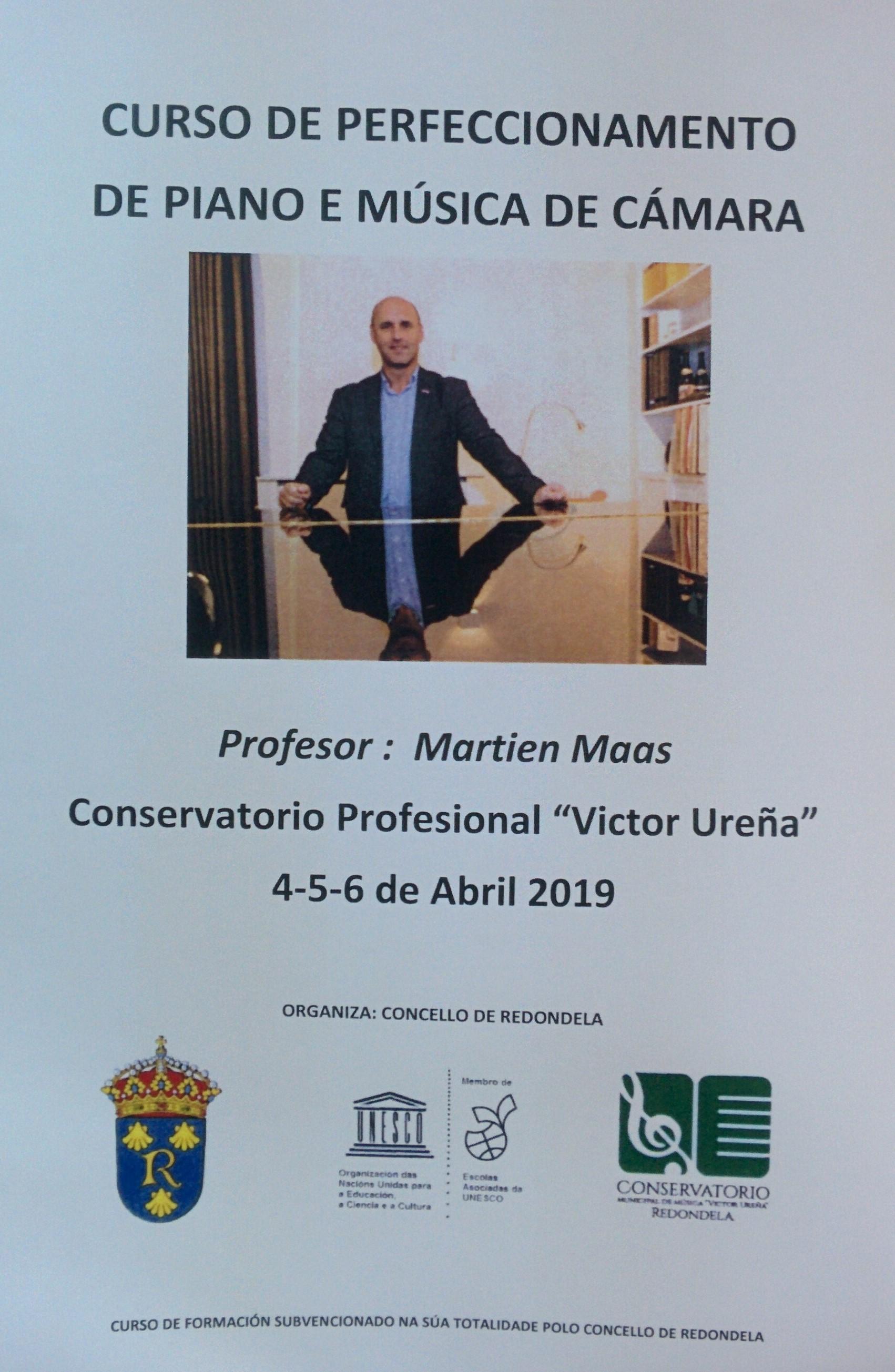 """Curso Clarinete , Piano Y Música De Cámara CMus """"Víctor Ureña"""""""