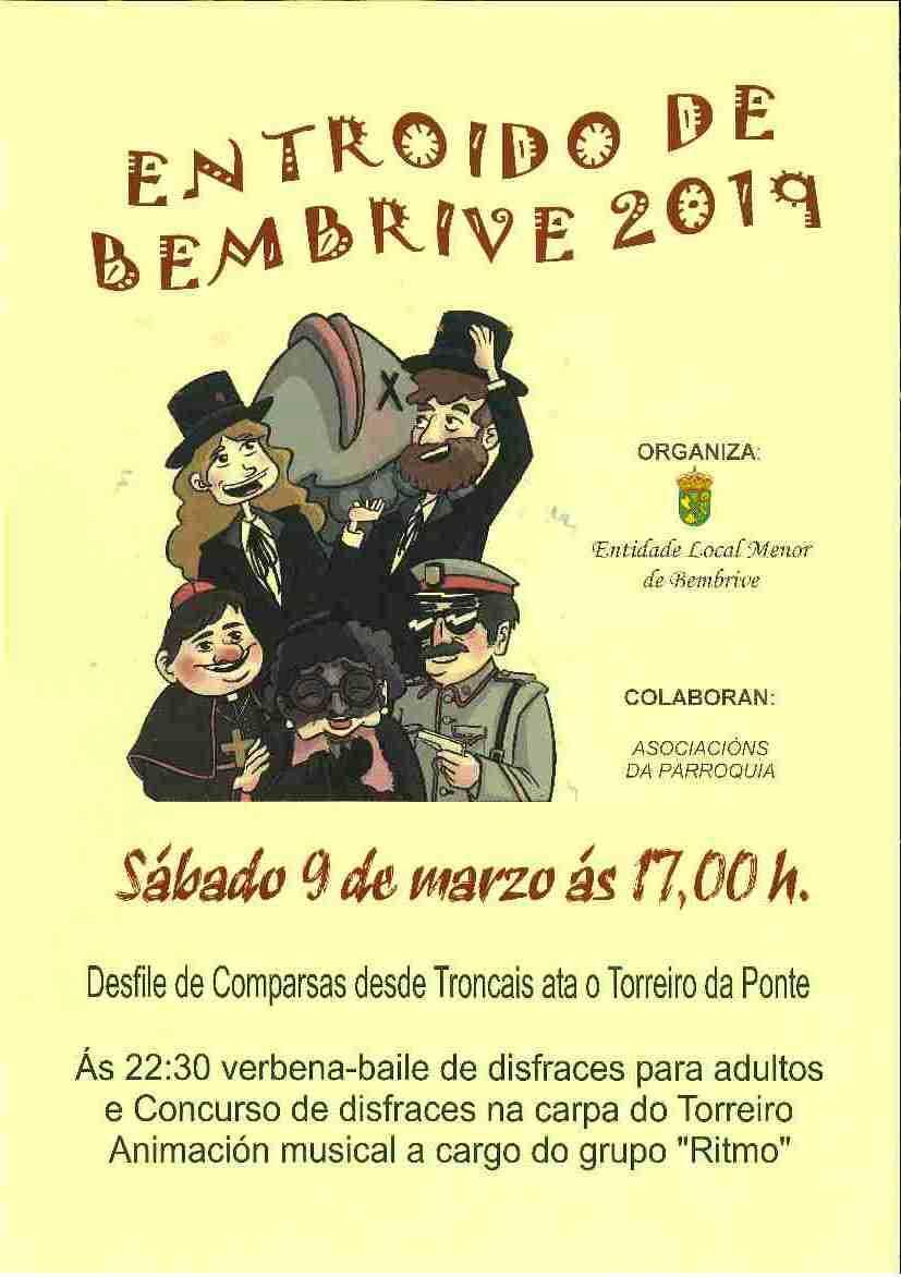 Horarios Carnaval Bembrive 2019