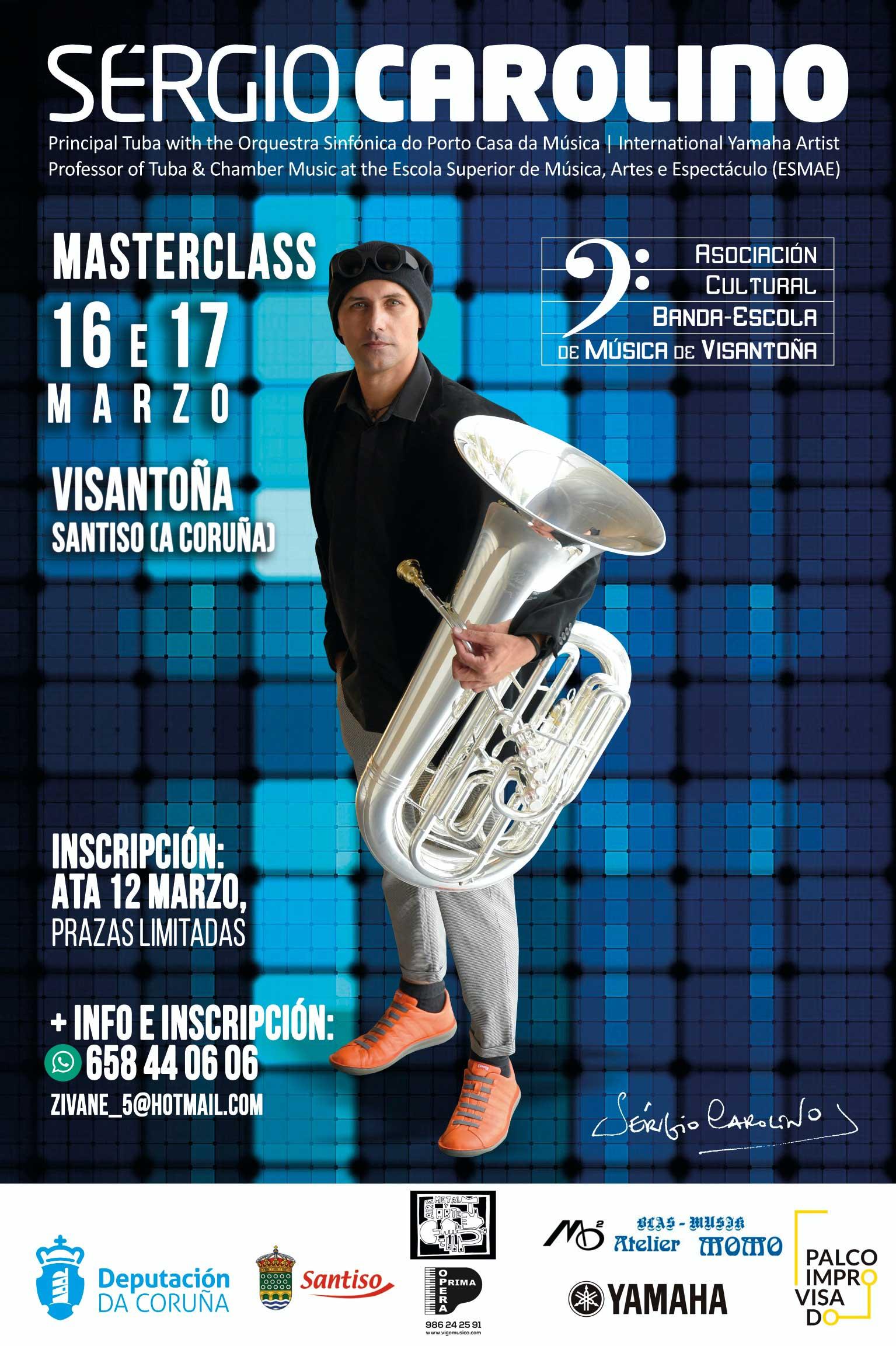 Masterclass Sergio Carolino En Visantoña