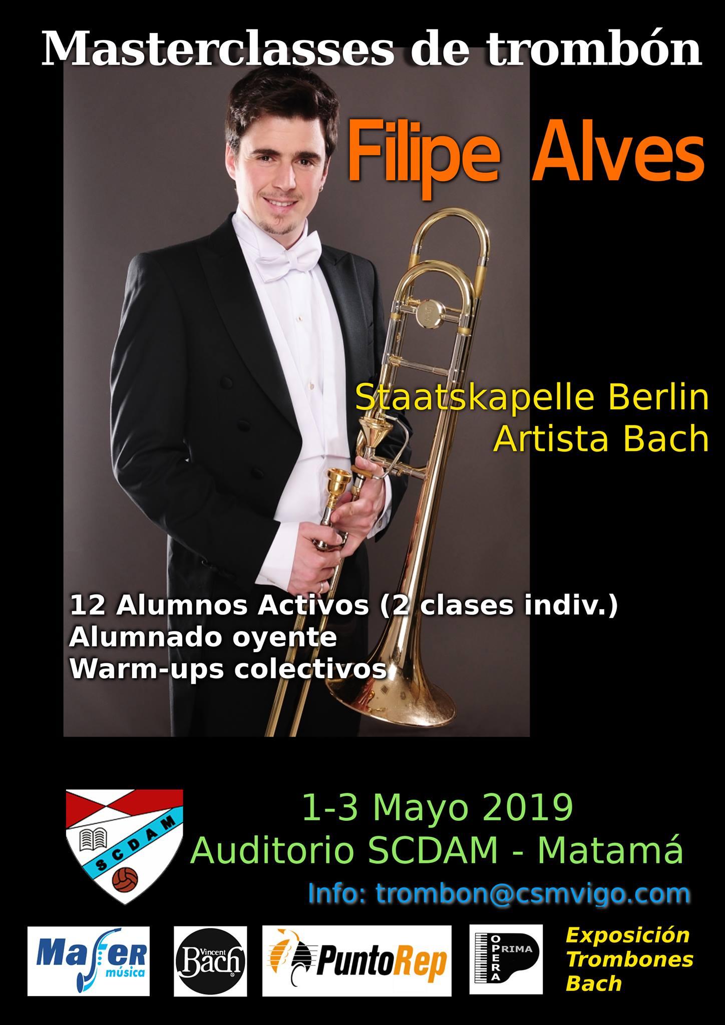Masterclass De Trombón Con Filipe Alves