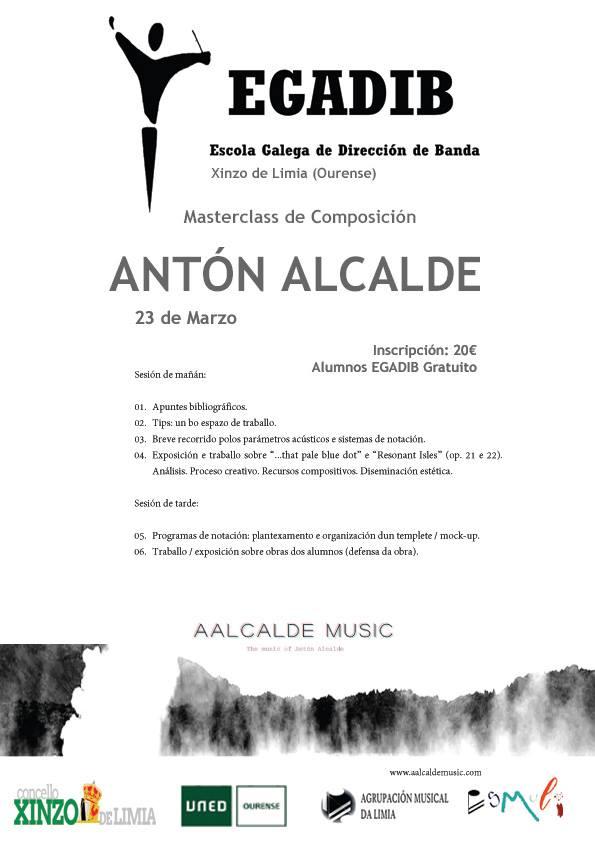 Masterclass De Composición  Por Antón Alcalde