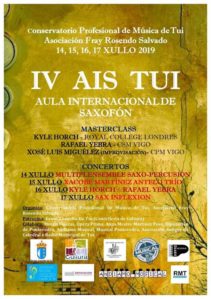 IV Aula Internacional De Saxofón