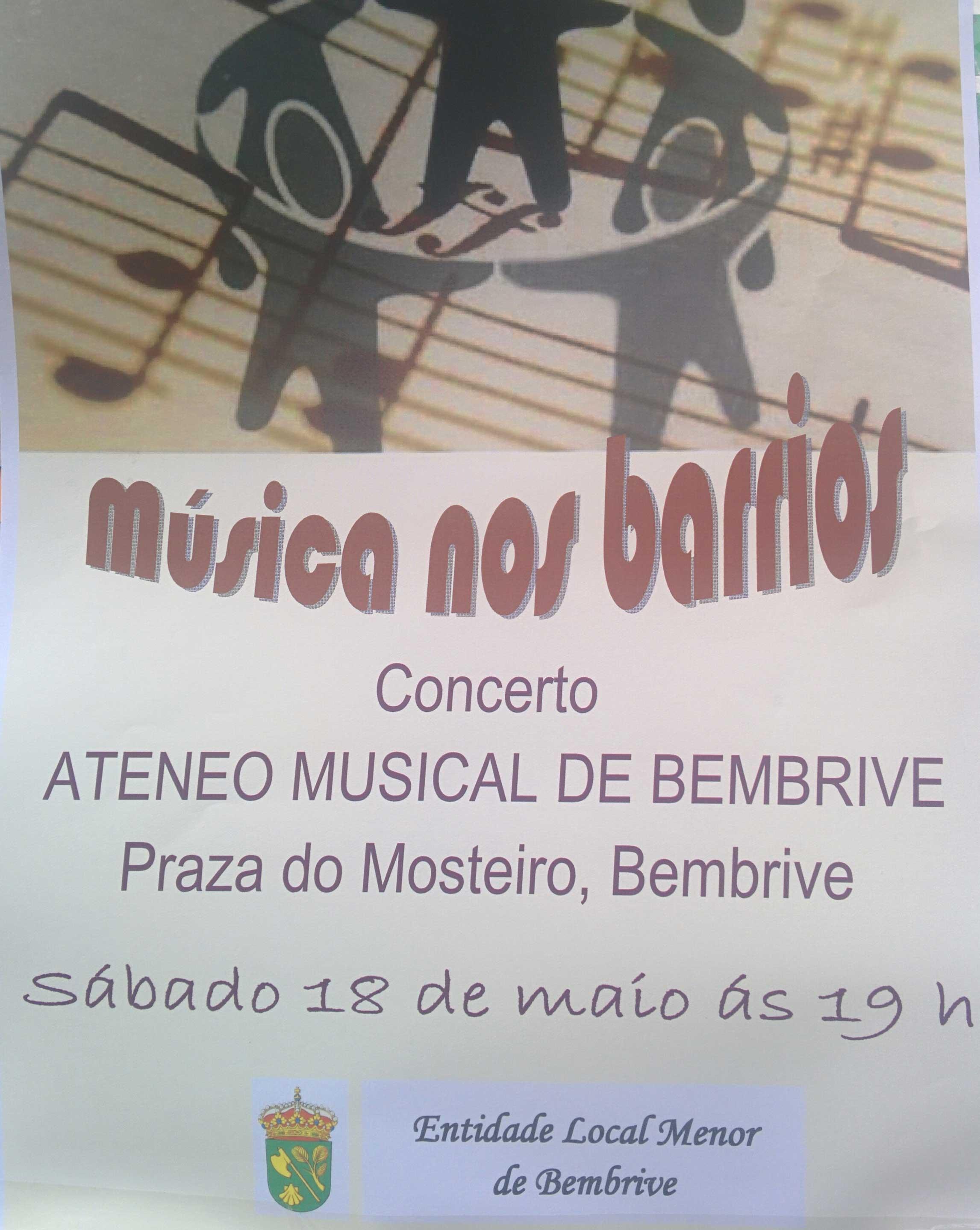 Musica Nos Barrios Mosteiro 2019