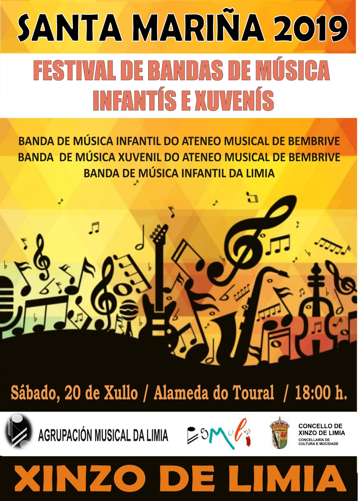 Festival Bandas Infantiles Xinzo Limia