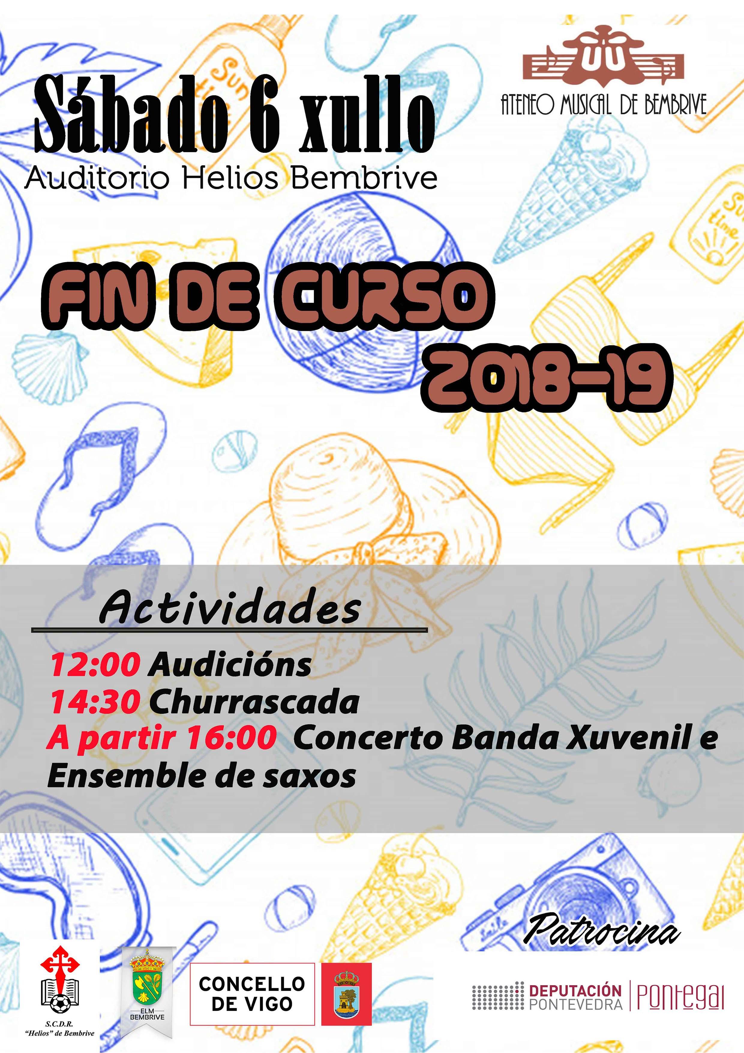 Actividades Fin De Curso 2018-19