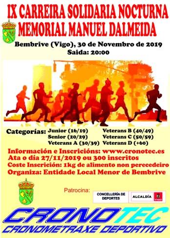 IX Carreira Solidaria De Bembrive